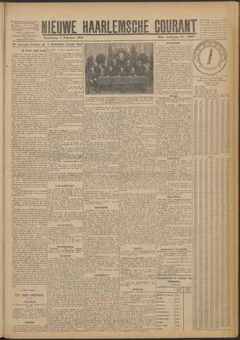 Nieuwe Haarlemsche Courant 1924-02-07
