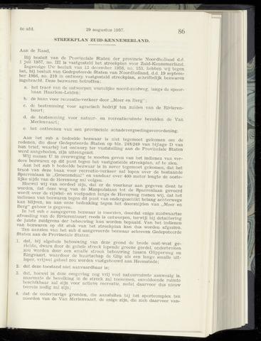 Raadsnotulen Heemstede 1957-08-29