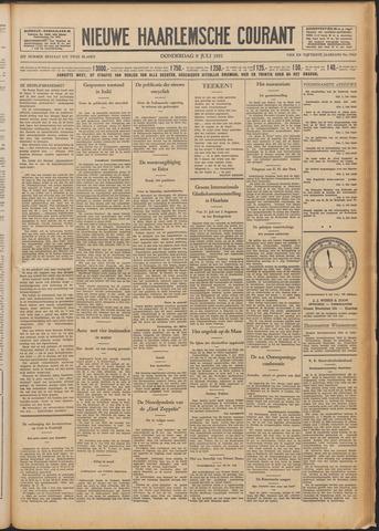 Nieuwe Haarlemsche Courant 1931-07-09