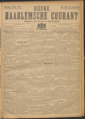 Nieuwe Haarlemsche Courant 1907-02-05