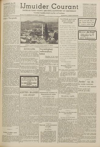 IJmuider Courant 1939-04-12