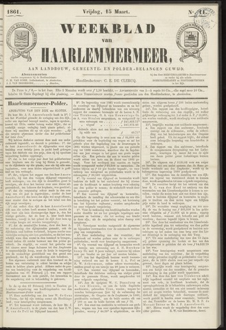 Weekblad van Haarlemmermeer 1861-03-15