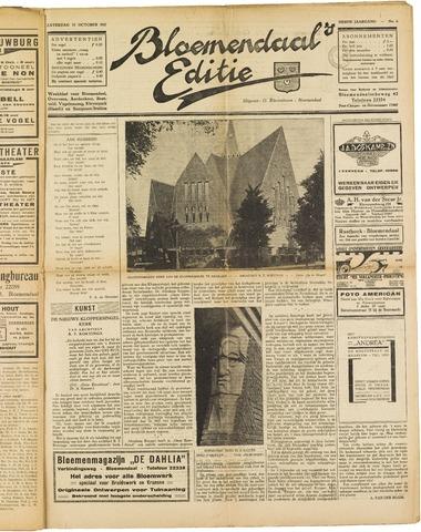 Bloemendaal's Editie 1927-10-15