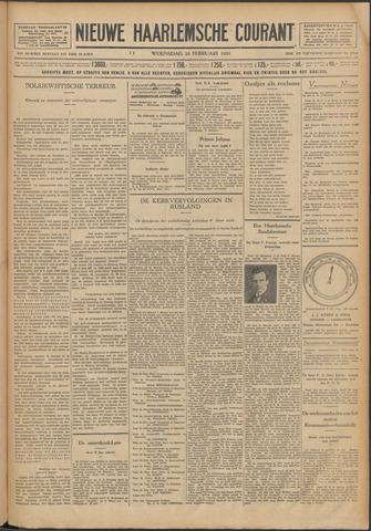 Nieuwe Haarlemsche Courant 1930-02-26