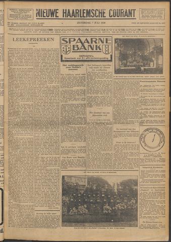 Nieuwe Haarlemsche Courant 1928-07-07