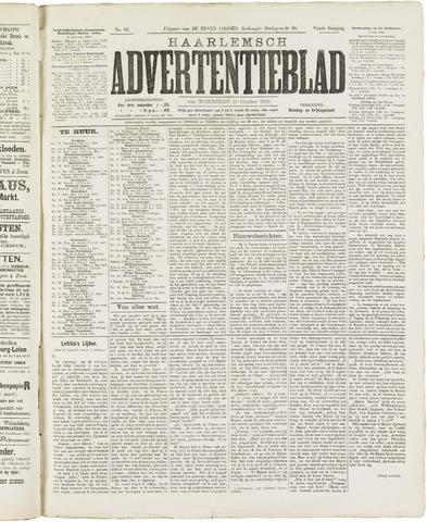 Haarlemsch Advertentieblad 1882-10-18