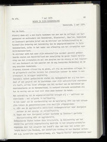 Raadsnotulen Heemstede 1974-05-07