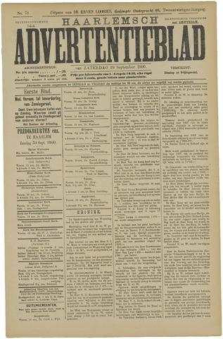 Haarlemsch Advertentieblad 1900-09-29