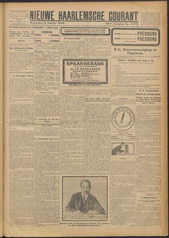 Nieuwe Haarlemsche Courant 1923-10-31