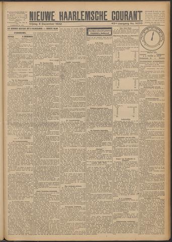 Nieuwe Haarlemsche Courant 1922-12-08