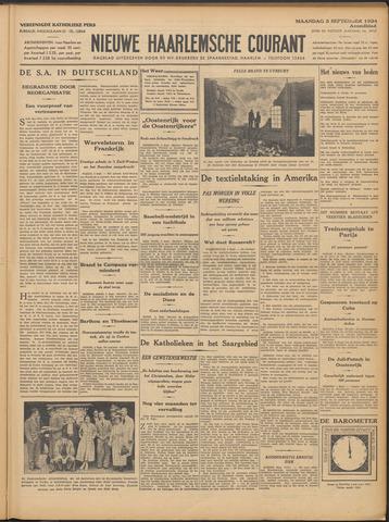 Nieuwe Haarlemsche Courant 1934-09-03
