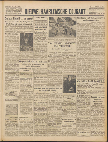 Nieuwe Haarlemsche Courant 1950-04-05