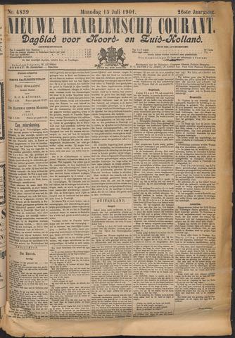 Nieuwe Haarlemsche Courant 1901-07-15