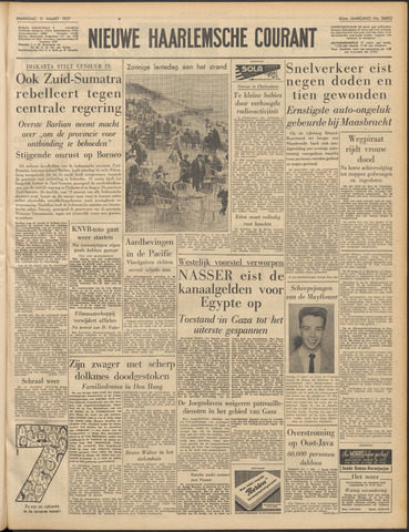 Nieuwe Haarlemsche Courant 1957-03-11