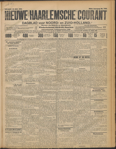 Nieuwe Haarlemsche Courant 1910-11-25