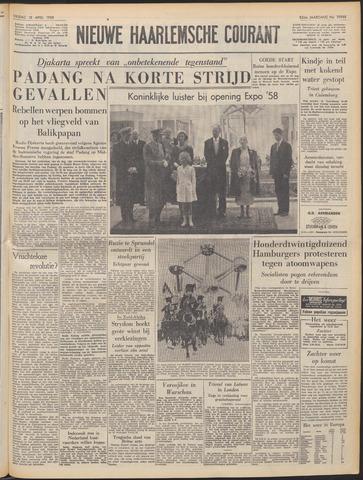 Nieuwe Haarlemsche Courant 1958-04-18