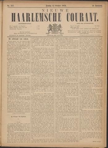 Nieuwe Haarlemsche Courant 1879-10-12