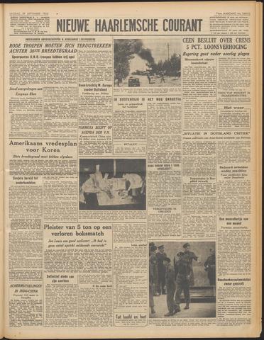 Nieuwe Haarlemsche Courant 1950-09-29