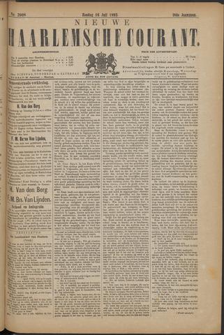 Nieuwe Haarlemsche Courant 1893-07-16