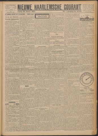 Nieuwe Haarlemsche Courant 1923-01-26