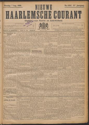 Nieuwe Haarlemsche Courant 1906-08-07