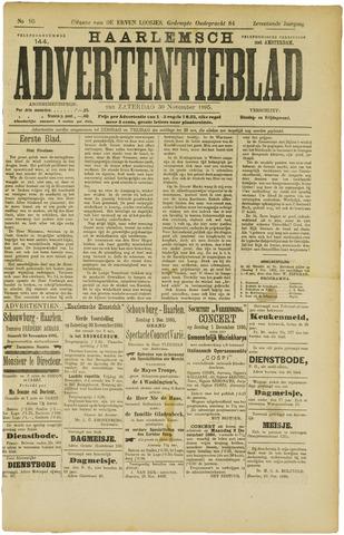 Haarlemsch Advertentieblad 1895-11-30