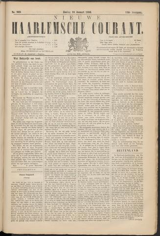 Nieuwe Haarlemsche Courant 1886-01-10