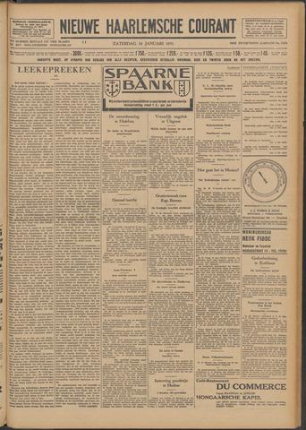 Nieuwe Haarlemsche Courant 1931-01-24