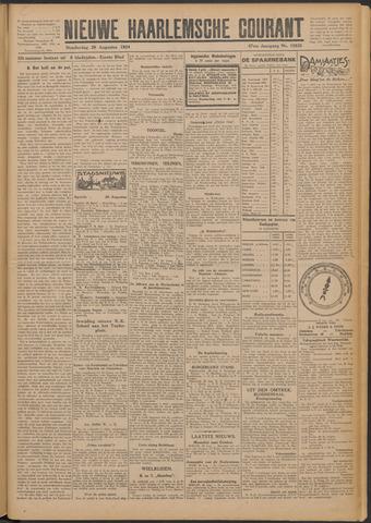 Nieuwe Haarlemsche Courant 1924-08-28
