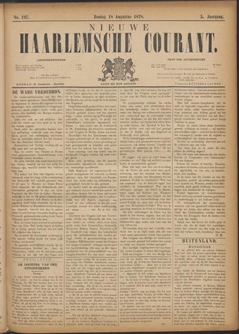 Nieuwe Haarlemsche Courant 1878-08-18