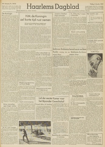 Haarlem's Dagblad 1947-10-03