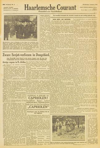 Haarlemsche Courant 1943-01-07