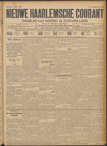Nieuwe Haarlemsche Courant 1909-09-03