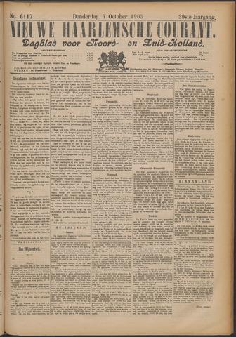 Nieuwe Haarlemsche Courant 1905-10-05