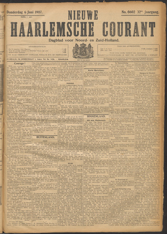 Nieuwe Haarlemsche Courant 1907-06-06
