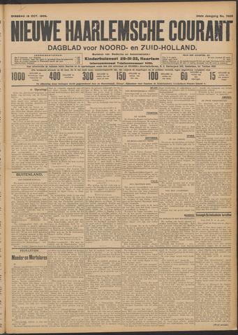 Nieuwe Haarlemsche Courant 1909-10-19