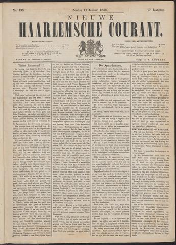 Nieuwe Haarlemsche Courant 1878-01-13