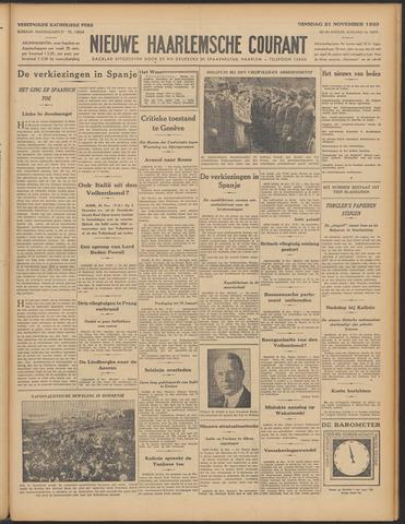 Nieuwe Haarlemsche Courant 1933-11-21