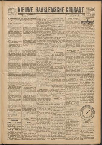 Nieuwe Haarlemsche Courant 1922-10-13