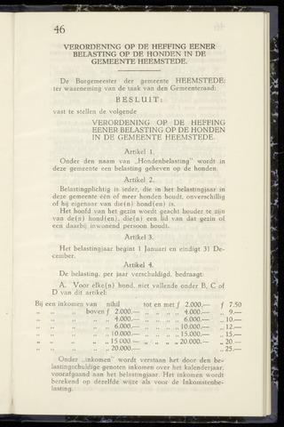 Raadsnotulen Heemstede 1942-11-04