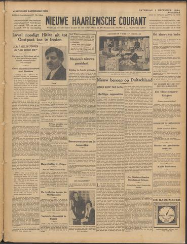 Nieuwe Haarlemsche Courant 1934-12-01