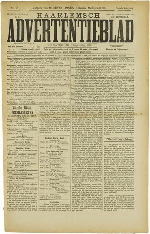 Haarlemsch Advertentieblad 1888-09-01