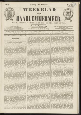 Weekblad van Haarlemmermeer 1862-10-10