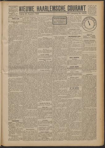 Nieuwe Haarlemsche Courant 1922-08-25