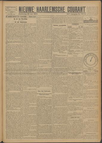 Nieuwe Haarlemsche Courant 1923-06-28