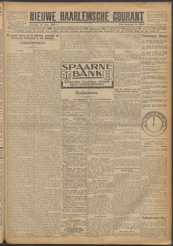 Nieuwe Haarlemsche Courant 1927-09-10