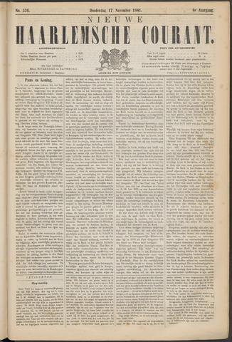 Nieuwe Haarlemsche Courant 1881-11-17