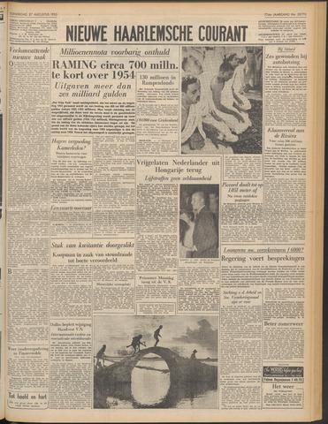 Nieuwe Haarlemsche Courant 1953-08-27