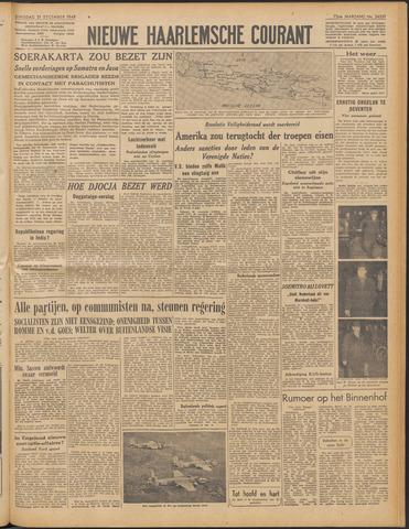 Nieuwe Haarlemsche Courant 1948-12-21