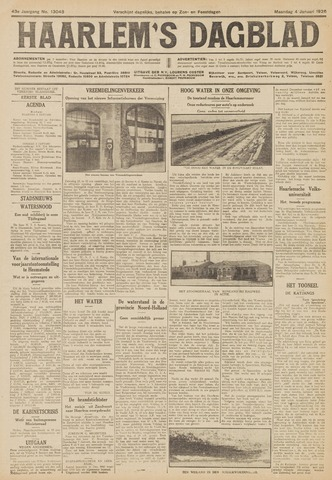 Haarlem's Dagblad 1926-01-04